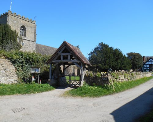 16th century Church and Lych-gate