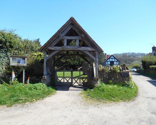 16th century Lych-gate